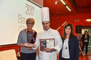 """Il premio """"APERITIVO DELL'ANNO"""" BAR D'ITALIA alla Pasticceria Zizzola di Noale (VE)"""