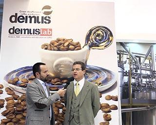 i segreti del decaffeinato raccontati a Triestespresso insieme a Demus