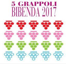 BOSCO DEL MERLO festeggia i 5 Grappoli di Bibenda 2017 vinti con VINEARGENTI RISERVA 2013