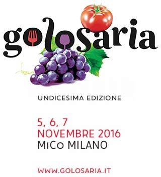 Golosaria 11° edizione al MiCo di Milano dal 5 al 7 novembre