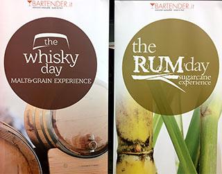 I migliori assaggi al the Rum e the Whisky day 2016