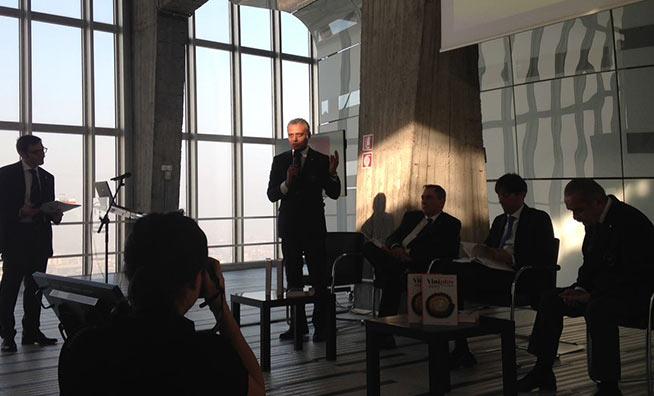 Intervento alla presentazione di Vinoplus 2017 Lombardia di Hosam Eldin Abou Eleyoun Delegato AIS Milano