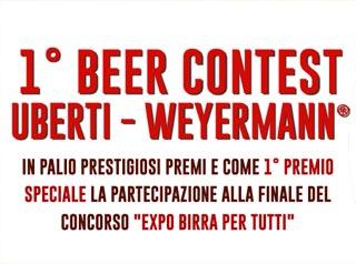 Al via il primo Beer Contest Uberti – Weyermann®, il concorso dedicato agli homebrewer