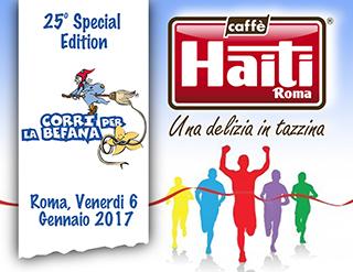 Epifania con gusto per Caffè Haiti Roma in occasione di Corri per la Befana
