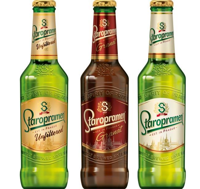 Staropramen la birra di praga ora distribuita in italia da interbrau - Bagno birra praga ...
