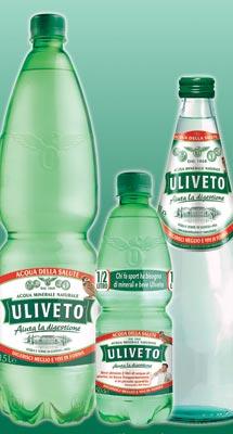 Uliveto, l'acqua per lo sport, sponsor della Federazione Italiana Rugby