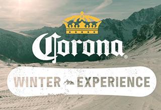 """""""Corona Winter Experience"""": al via la campagna dedicata allo snowboard"""