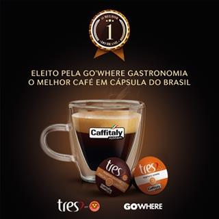 """Caffitaly è """"Il miglior caffè in capsula del Brasile"""" in cobranding con Tres Coraçoes"""