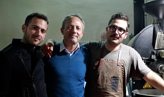 Nella Foto: Antonio Quarta A.D. dell'azienda con i figli Gaetano e Edoardo
