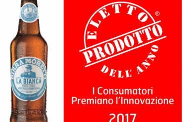 Birra Moretti La Bianca - Logo Eletto prodotto dell'anno 2017
