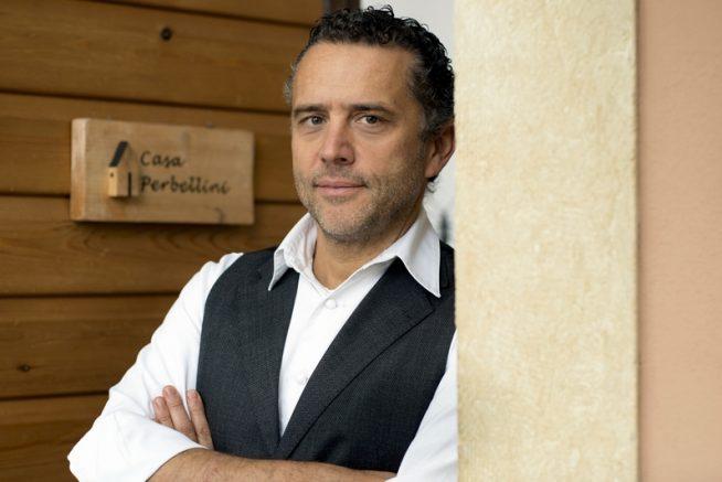 Giancarlo Perbellini chef del ristorante Casa Perbellini di Verona