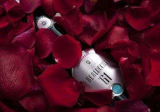 Gli innamorati brindano Berlucchi '61 Rosé