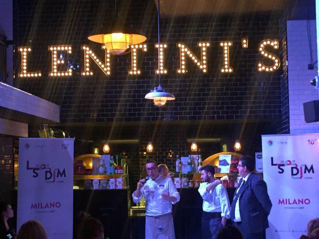 Il pizzaiolo Gino Sorbillo al Lentini's Pizza&Restaurant