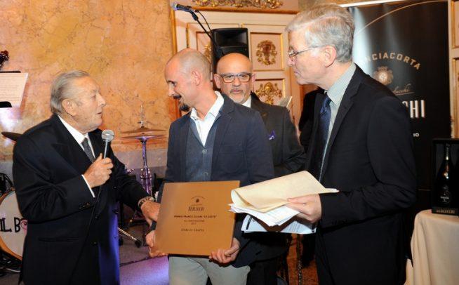 Cena Le Ssote, Franco Ziliani premia Enrico Crippa