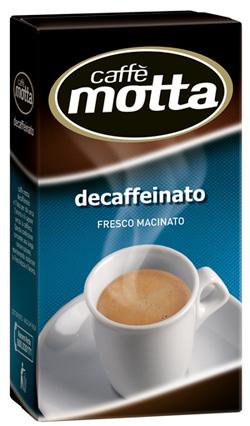 Caffè Motta presenta il suo Decaffeinato classico, espresso
