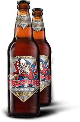Nuova immagine per Trooper, la birra degli Iron Maiden