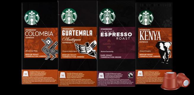 starbuck capsule compatibili nespresso