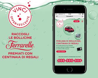 Loyalty Program Ferrarelle:  dal 10 maggio Vinci Effervescente per tutto l'anno