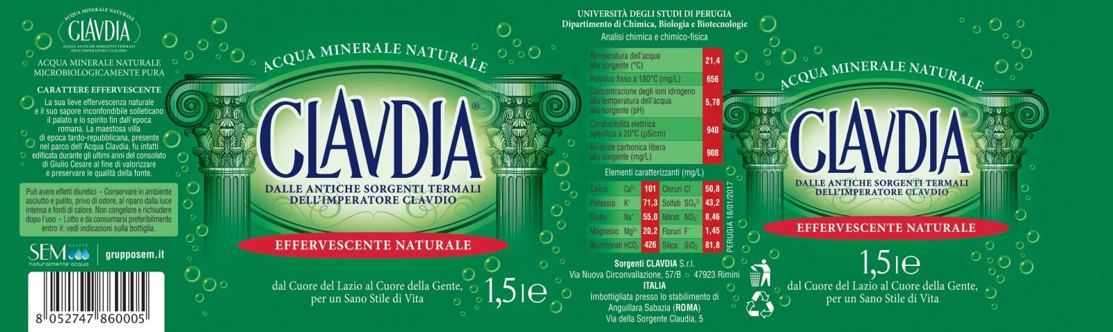 Acqua claudia cambia look un nuovo design e una nuova for Acqua design italia