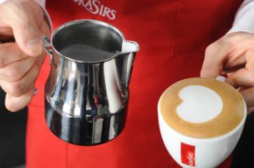 Moka Sir's cappuccino