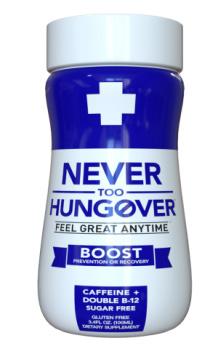 Never Too Hungover dagli USA la bibita antisbornia che promette di avere la formulazione più efficace