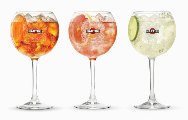 Martini-cocktails