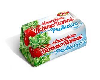 Una nuova immagine per lo Stracchino con fermento probiotico Nonno Nanni
