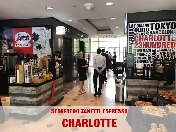 Segafredo Charlotte 23hundred Centrale Espresso Café Zanetti America Compass Compass Group North America Segafredo North Group Segafredo Zanetti