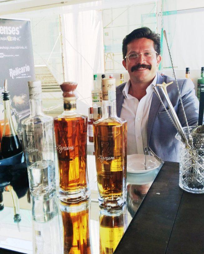 Gustavo Ortega Oyarzun - Global Brand Ambassador - Zignum Mezcal