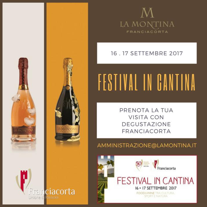 La Montina, Franciacorta - Festival in Cantina, 16 e 17 Settembre 2017