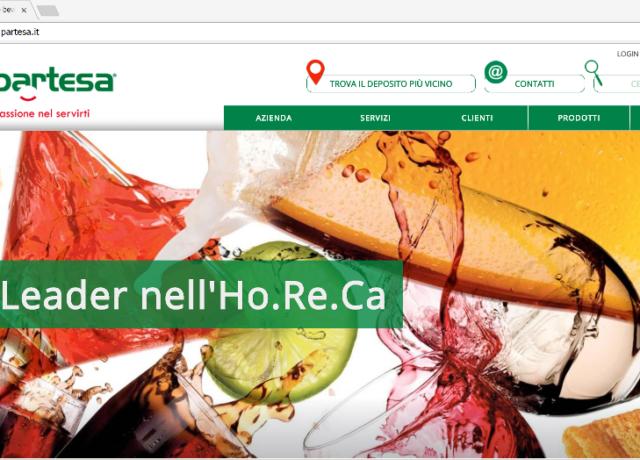 Partesa – Home page