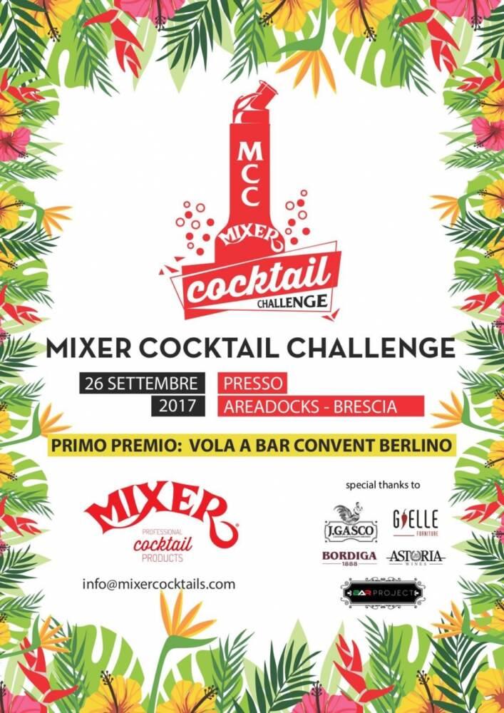 Mixer Cocktail Challenge