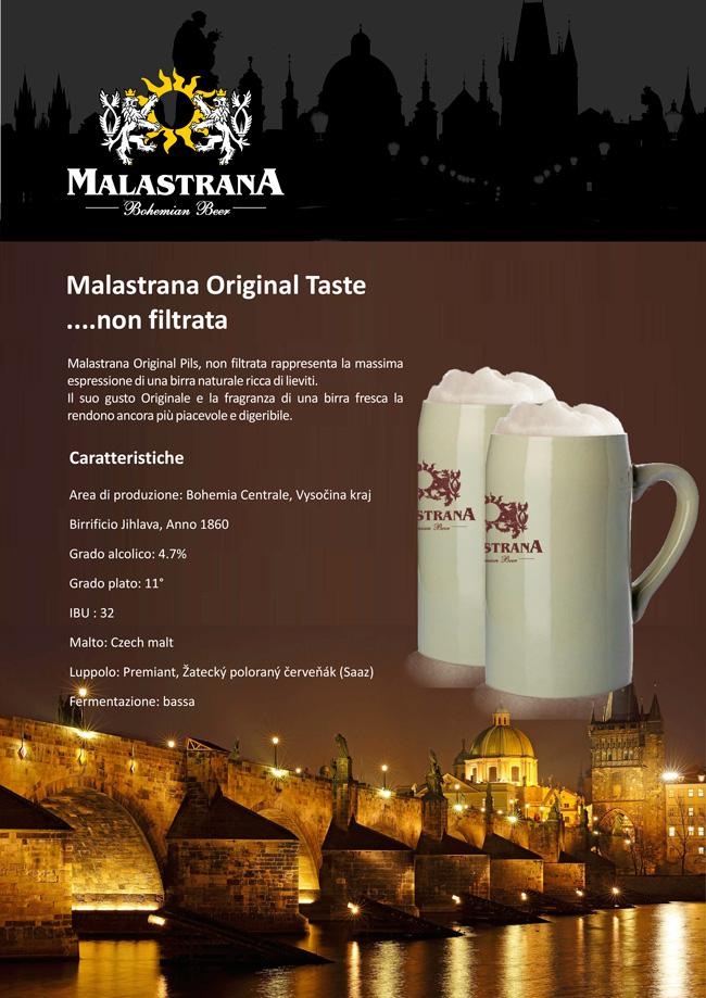 Original Birre Ceche Malastrana Taste Filtrata Birre Non Filtrate Interpivo