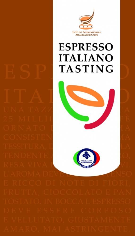 Copertina Espresso Italiano Tasting