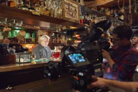 Il barman Dario Comini del Nottingham Forest di Milano a Piatti e Cocktail d'Arte