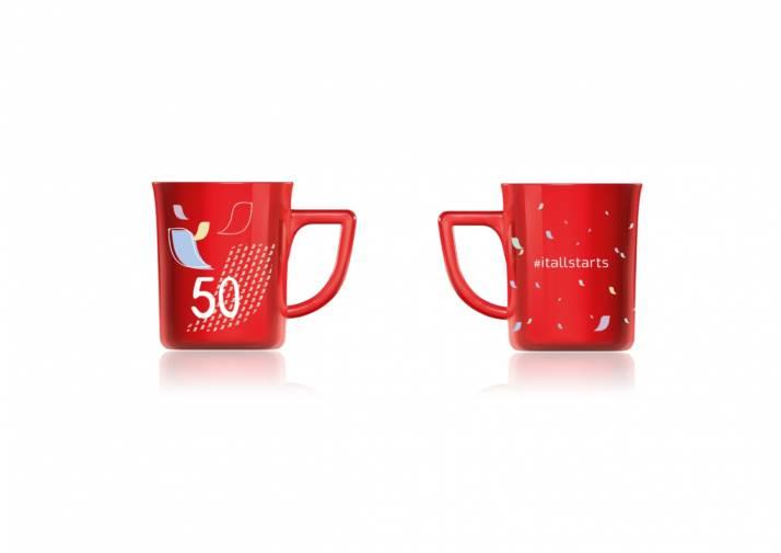Red Mug 50 anni_Nescafè