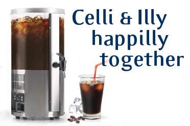 Grazie a Celli & Illy anche il Caffè Freddo potrà beneficiare di tutti i vantaggi della spillatura!