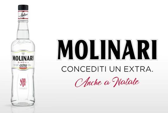Molinari Packaging Campagna Comunicazione Concediti Consumo Sociale Natale Limited Edition Extra