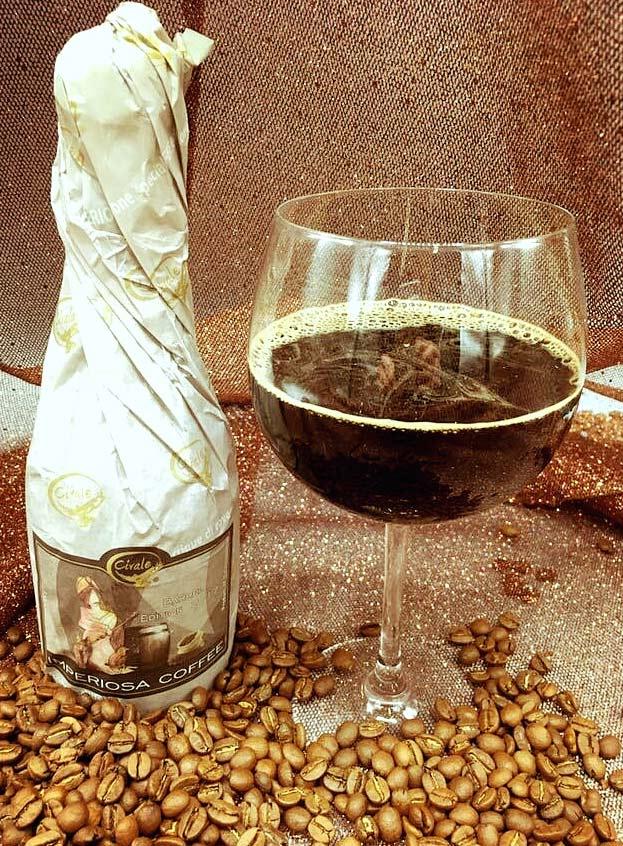 Cioccolato Gocce Barrel Birra Al Caffè Civale Birrificio Collaborazione Birra Artigianale Birrificio Civale Coffee Imper Aleiosa