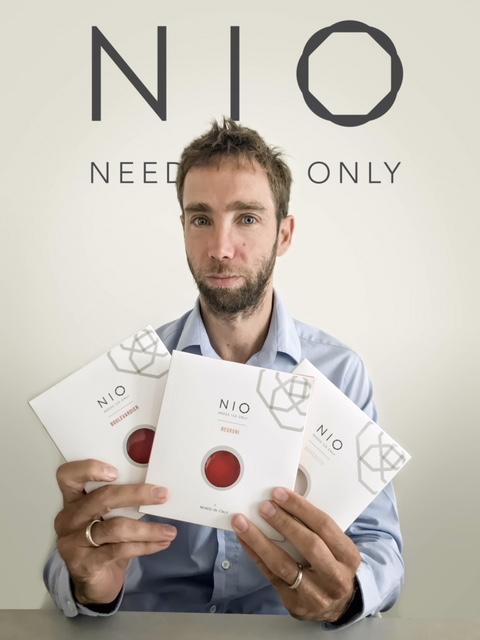 Luca Quagliano fondatore di Nio Cocktails