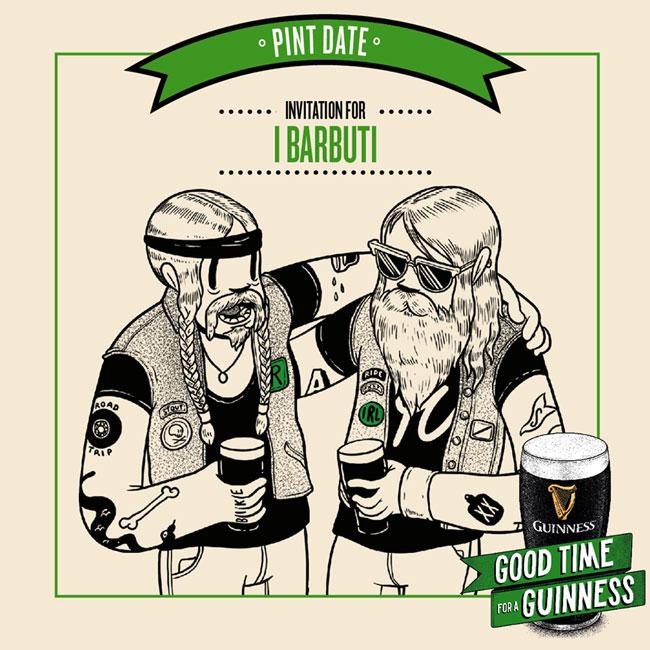 Guinness Diageo Irlanda San Patrizio Saint Patrick Patrick Sull