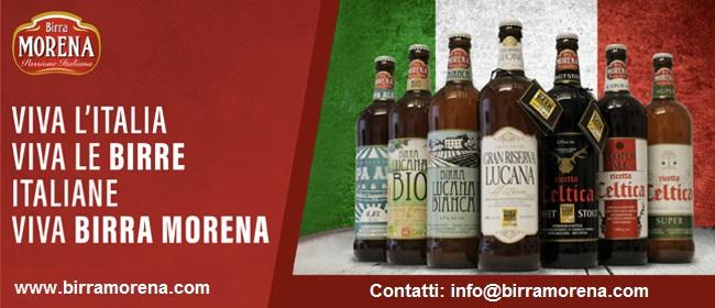 Viva l'Italia, viva le birre italiane, viva Birra Morena