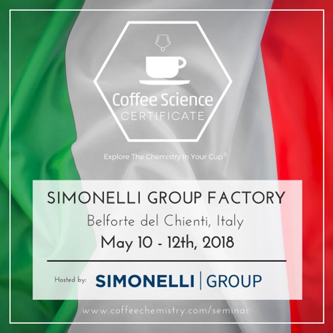Corsi Caffè Csc - Coffee Science Certificate Corsi Simonelli Nuova Simonelli Group Italia Science Coffee Certificate