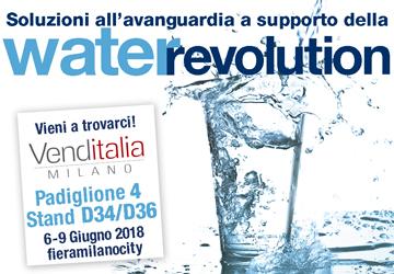 Cosmetal Vi aspetta a Venditalia con le sue novità per una Water Revolution!