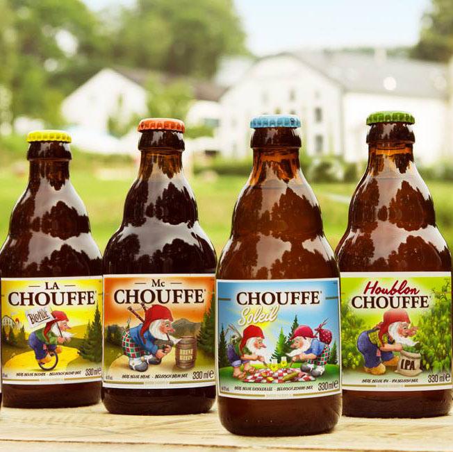 Birre La Chouffe Rinnovata Immagine Achouffe Chouffe - Brasserie D'achouffe Restyling Belghe Interbrau