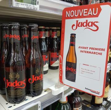 Heineken lancia la birra Judas anche nella GDO francese