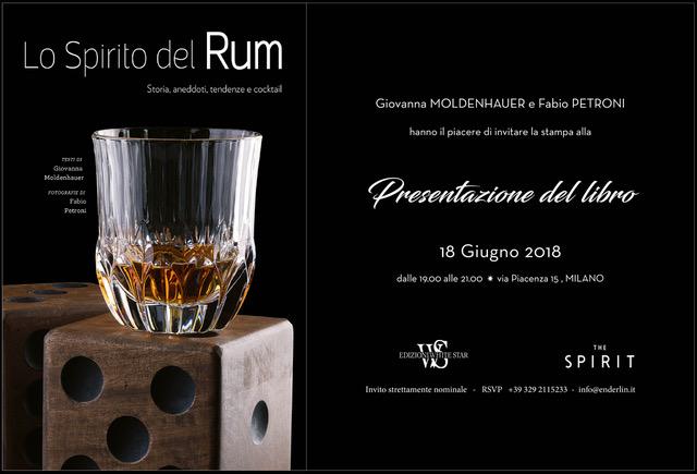 Giovanna Moldenhauer Presentati Cocktail Tendenze Spirit The Spirit Fabio Bacchi Storia Spirito Rum
