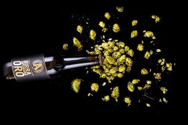 Interbrau Antoniana Bocca Birra Birra Antoniana Anniversario Estate Birra Antoniana Oro