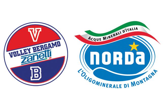 Partnership Acque Minerali D'italia Partnershipcon Bergamo Sponsorizzazioni Volley Sponsorizzazioni Sportive Norda