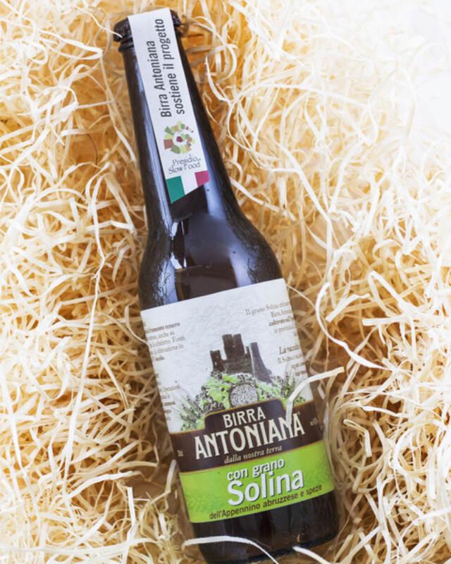 Birra Antoniana con grano Solina